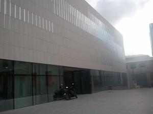 Centre sportif, 2011Brisac-Gonzalez architectes