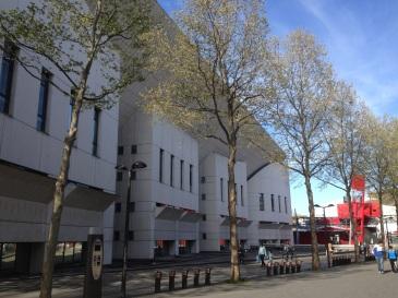 Conservatoire national 197 av. Jean Jaurès par Christian de Portzamparc, 1984