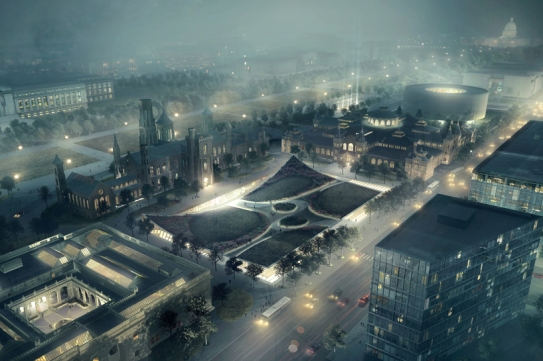 bjarke-ingels-group-BIG-smithsonian-masterplan-washington-designboom-01