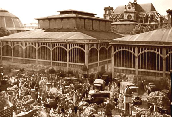 Les halles de paris les architectures - Pavillon baltard halles ...
